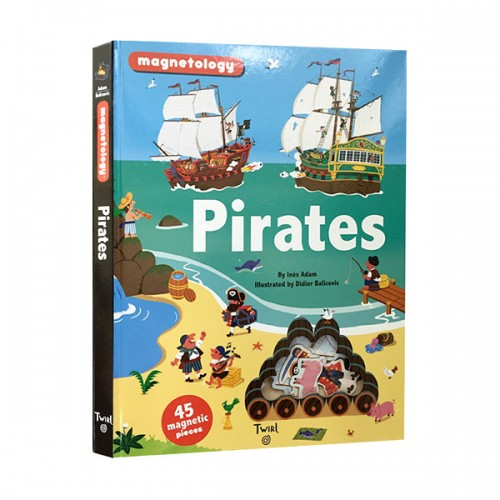 ★키즈코믹콘★Magnetology : Pirates (Hardcover)