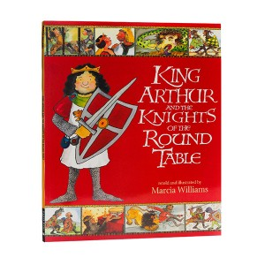 Walker Illustrated Classics : King Arthur and the Knights of the Round Table (Paperback,영국판)