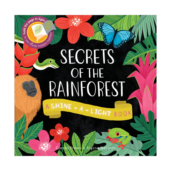 Shine a Light : Secrets of the Rainforest (Paperback, 영국판)