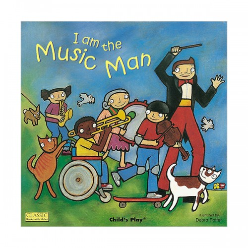 I am the Music Man (Board book)