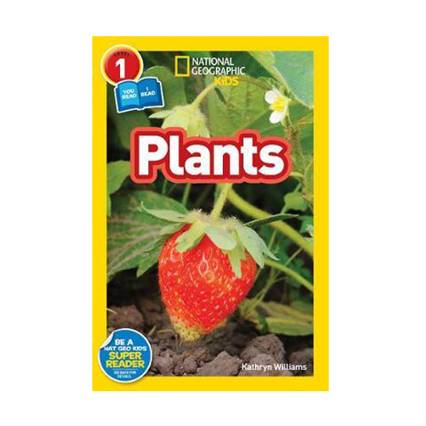 National Geographic Kids Readers Level 1 : Plants (Paperback)