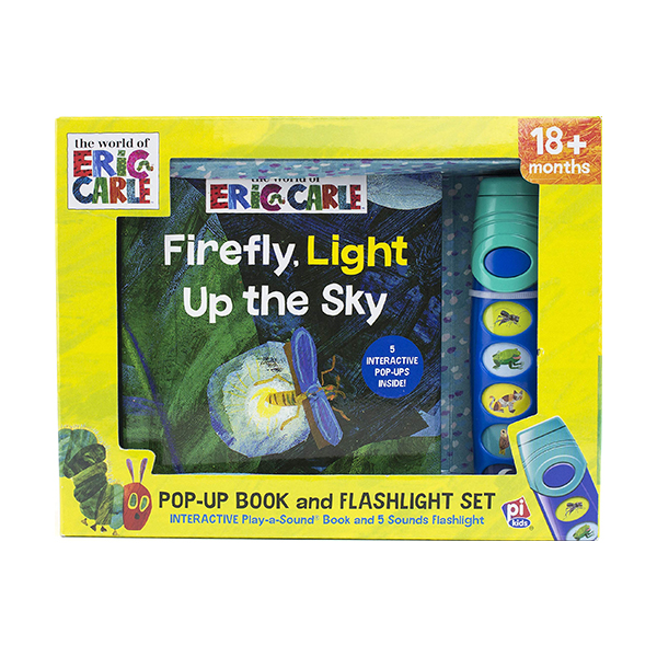 Eric Carle : Firefly Light Up The Sky : Book & Flashlight Set (Hardcover, Sound Book)