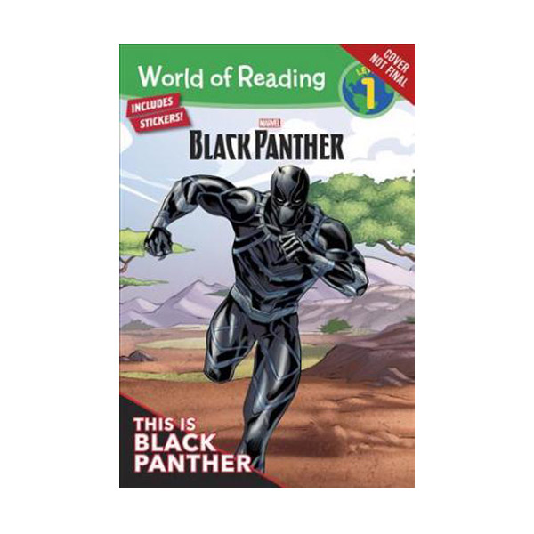 World of Reading Level 1 : Marvel Black Panther : This is Black Panther (Paperback)