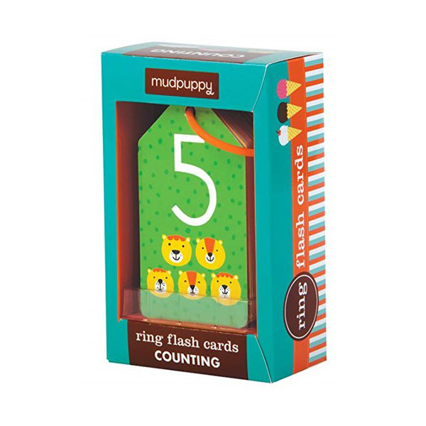 Mudpuppy Illustrated Counting Flash Cards (Cards)