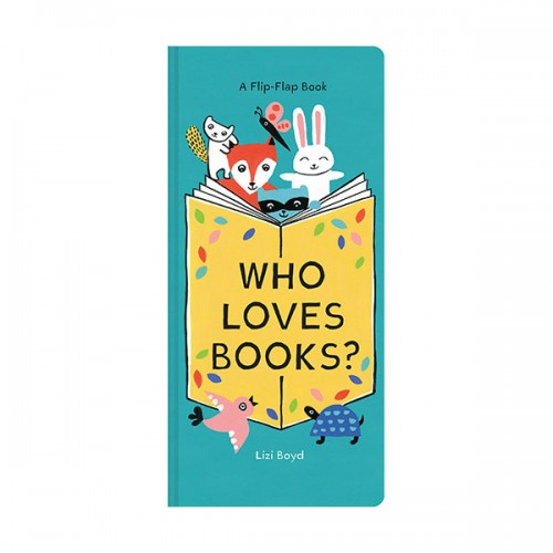 Who Loves Books? (Board book)
