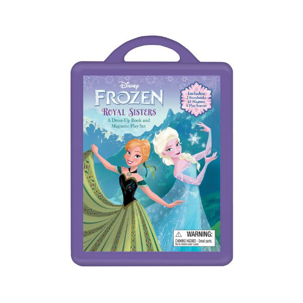 Frozen : A Dress-Up Book Magnetic Play Set