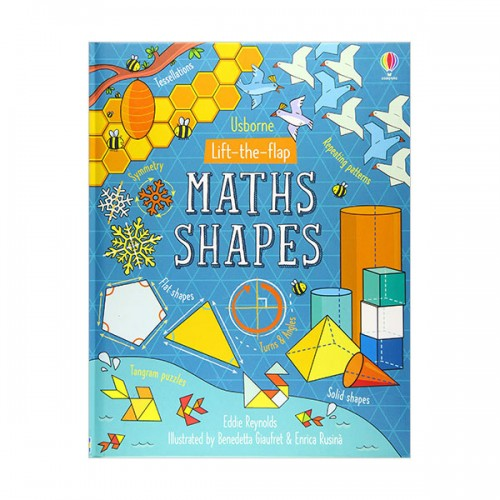 Lift-the-Flap Maths Shapes (Board book, 영국판)