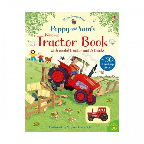 Poppy and Sam's Wind-Up Tractor Book (Board Book, 영국판)