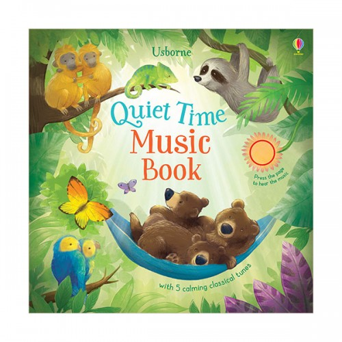 Quiet Time Music Book (Board book, Sound Book, 영국판)