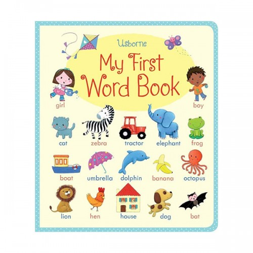My First Word book(Board book, 영국판)