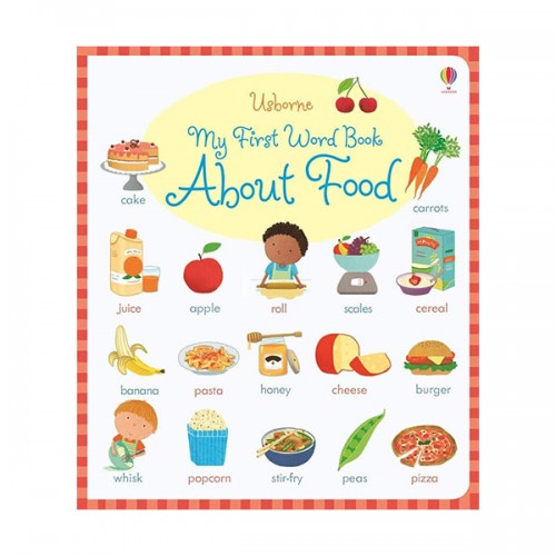 My First Word Book about Food (Board book, 영국판)