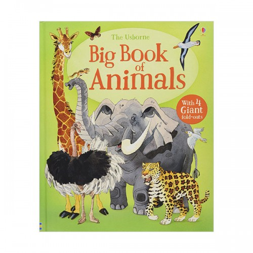 Big Book Of Big Animals (Hardcover, 영국판)