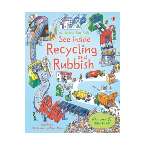 See Inside : Recycling and Rubbish (Hardcover, 영국판)