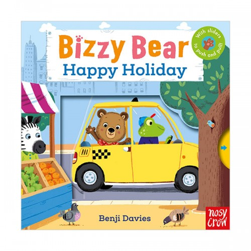 Bizzy Bear : Happy Holiday (Board book. 영국판)
