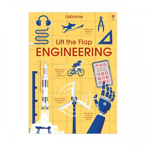Lift-the-Flap Engineering (Board book, 영국판)