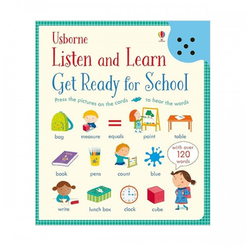 Listen and Learn : Get Ready for School (Hardcover, 영국판)