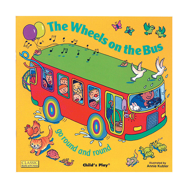The Wheels on the Bus : go Round and Round (Board book)