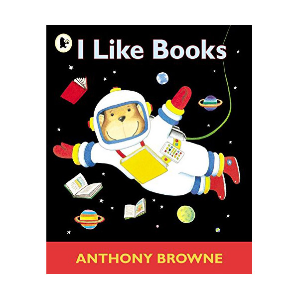 [특가] Anthony Browne : I Like Books (Paperback, 영국판)