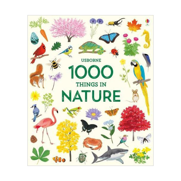 Usborne 1000 Things in Nature (Hardcover, 영국판)