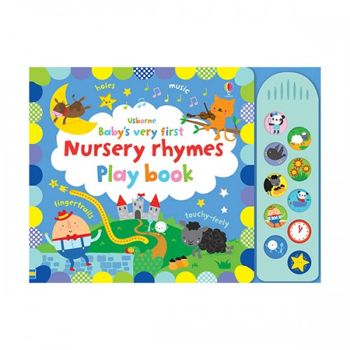 Baby's Very First Nursery Rhymes Playbook (Board book, 영국판)
