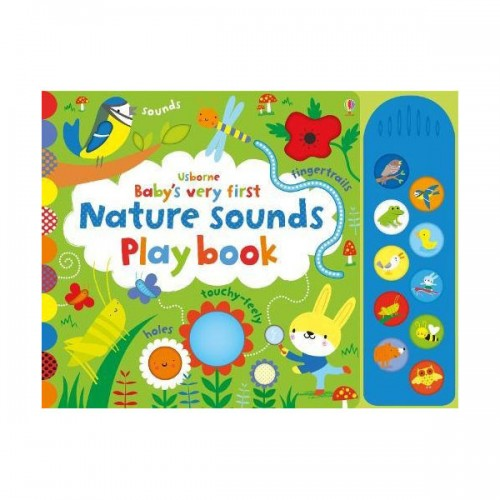 Babys Very First Nature Sounds Playbook (Board book, 영국판)