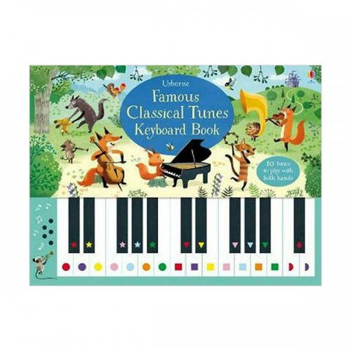 Famous Classical Tunes Keyboard Book (Spiral bound, 영국판)