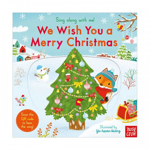 Sing Along With Me : We Wish You a Merry Christmas (Board book, 영국판)