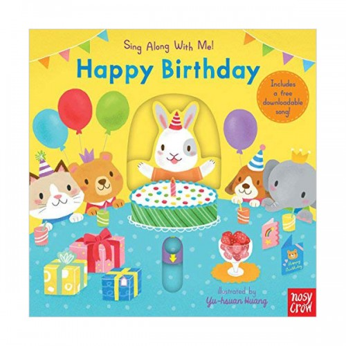 Sing Along With Me : Happy Birthday (Board book, 영국판)