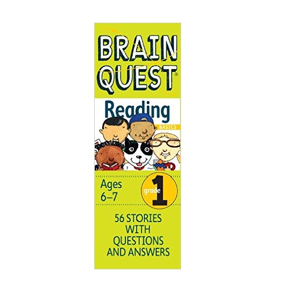 Brain Quest : Reading Basics : Grade 1 (Cards)