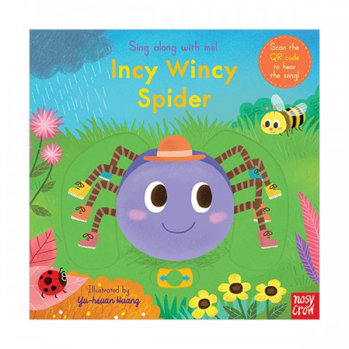 Sing Along With Me : Incy Wincy Spider (Board book, 영국판)