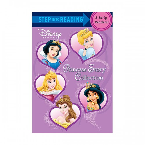Step into Reading Step 1-2 : Disney Princess Story Collection 5종 합본 (Paperback)
