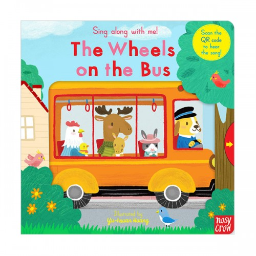 Sing Along With Me : The Wheels on the Bus (Board book, 영국판)