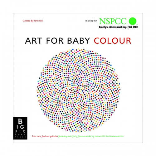 Art for Baby Colour (Hardcover, 영국판)