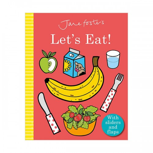 Jane Foster's Let's Eat! (Board book, 영국판)