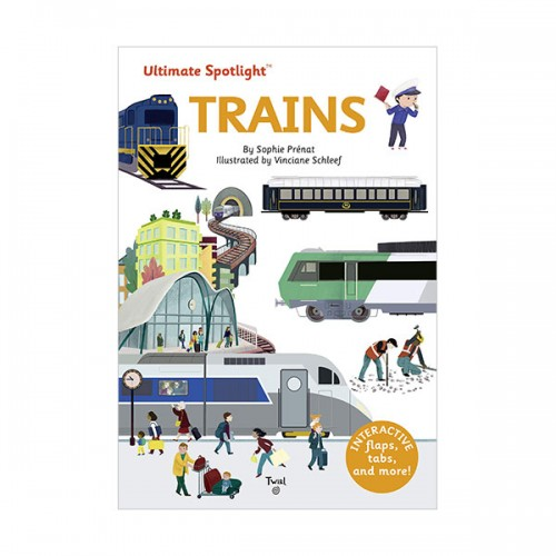 Ultimate Spotlight : Trains (Hardcover)