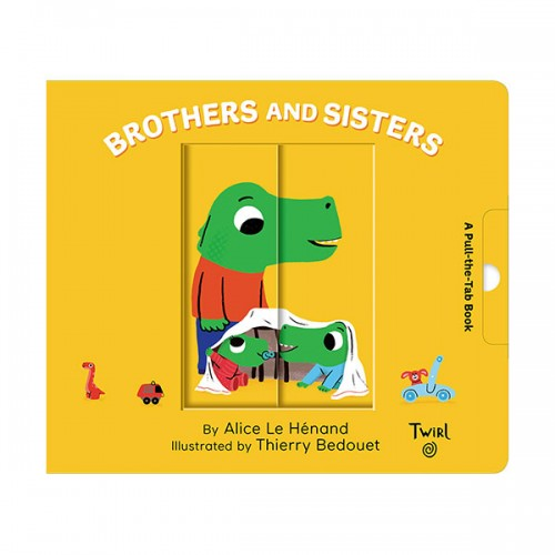 Pull and Play Books : Brothers and Sisters (Board book)