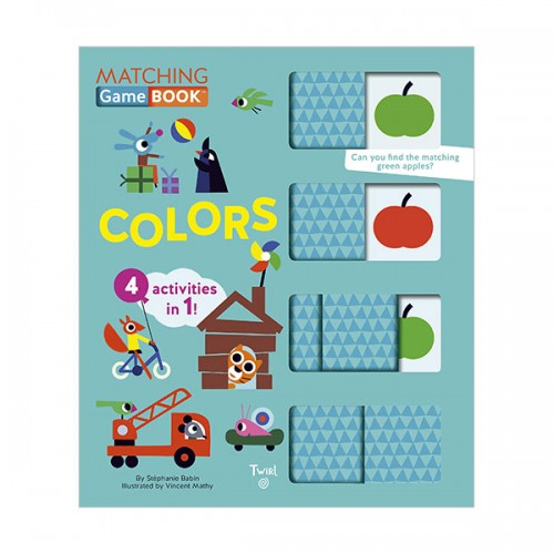 Matching Game Book : Colors (Board book)