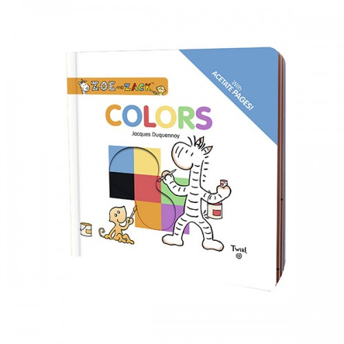 Zoe and Zack : Colors  (Hardcover)