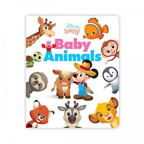Disney Baby Baby Animals (Board book)