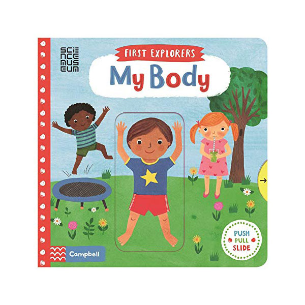 First Explorers : My Body (Board book, 영국판)