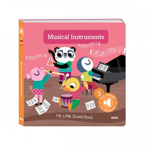 My Little Sound Book: Musical Instruments (Board book)