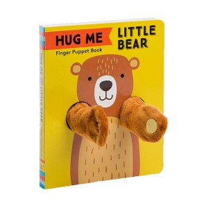 Finger Puppet Book : Hug Me Little Bear (Board book)