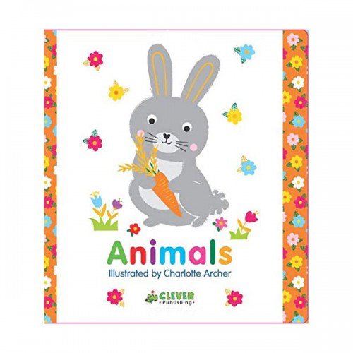 Clever Colorful Concepts : Animals (Board book)