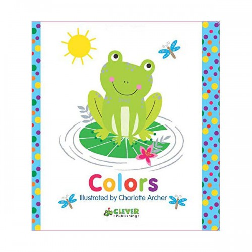 Clever Colorful Concepts : Colors (Board book)