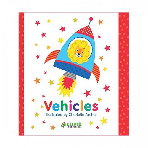 Clever Colorful Concepts : Vehicles (Board book)