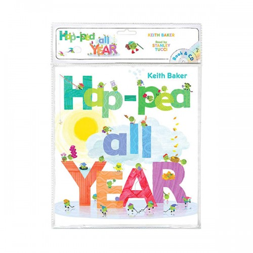Hap-Pea All Year (Book & CD)