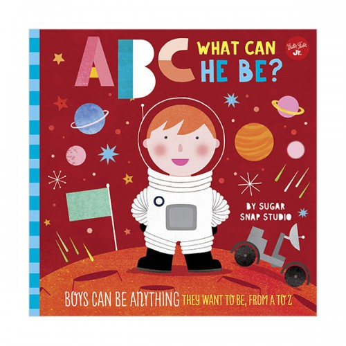 ABC for Me : ABC What Can He Be? (Board book)