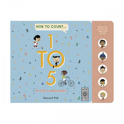 How to Count 1 to 5 in Five Languages (Board book)
