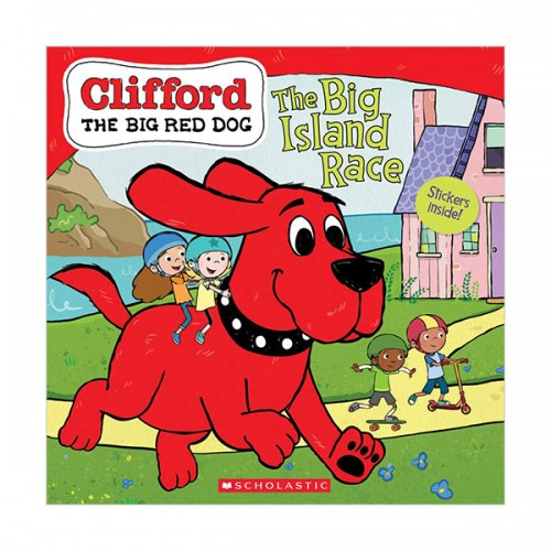 Clifford the Big Red Dog : The Big Island Race (Paperback)