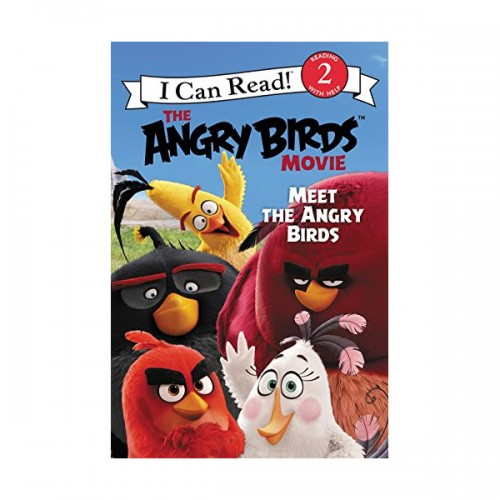I Can Read Level 2 : The Angry Birds Movie : Meet the Angry Birds (Paperback)